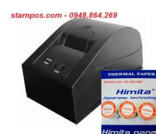 máy in hóa đơn atp 58T dùng giấy in hóa đơn gì